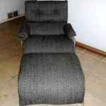 gray chair upholstery